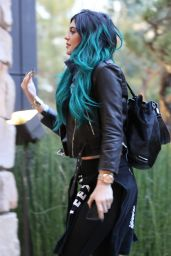 Kylie Jenner Fashion -  Out in Beverly Hills, November 2014