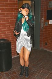 Kylie Jenner Street Style - Leaves a Doctors Office in Los Angeles, November 2014