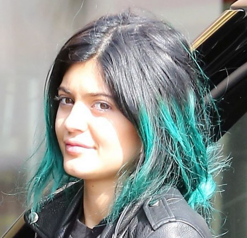 Kylie Jenner Style - At Jolly Donuts in Canoga Park - November 2014