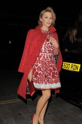 Kylie Minogue - Dolce & Gabbana Christmas Tree Party Held at Claridge