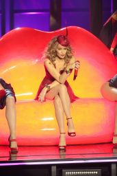 Kylie Minogue Performs at the Zenith in Lille - France, Nov. 2014