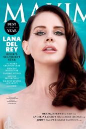 Lana Del Rey - Maxim Magazine December 2014/January 2015 Cover