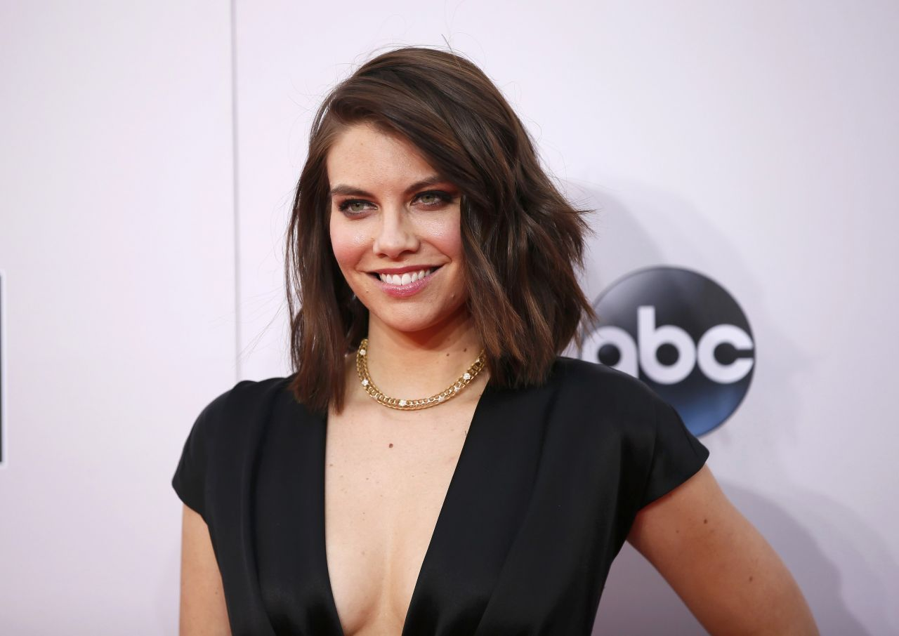 Lauren Cohan 2014 American Music Awards In Los Angeles
