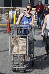 Lea Michele - Shopping With Her Mom After a Hike in Los Angeles