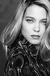 Lea Seydoux Photoshoot for EXILE Magazine - December 2014