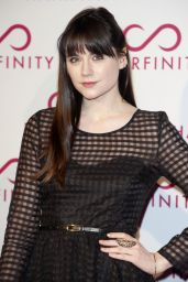 Lilah Parsons at Hairfinity Launch Party in London