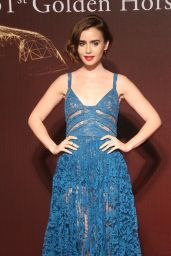 Lily Collins -2014 Golden Horse Awards, Taiwan