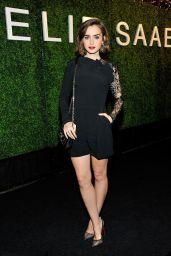 Lily Collins - ELIE SAAB Party in Los Angeles, November 2014