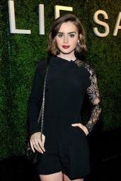 Lily Collins - ELIE SAAB Party in Los Angeles, November 2014