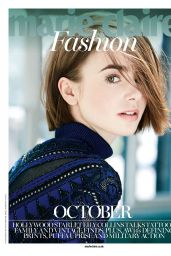 Lily Collins - Marie Claire Magazine (UK) October 2014