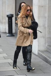 Lindsay Lohan Style - Out in London - October 2014