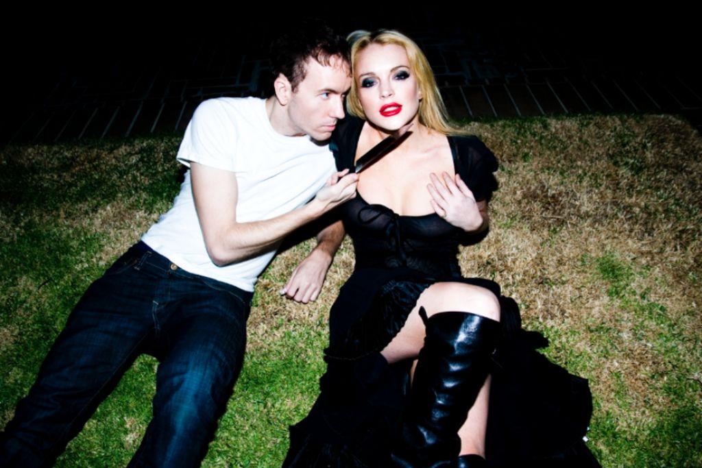 Lindsay Lohan - Tyler Shields Photoshoot (2014)