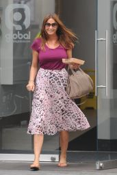 Lisa Snowdon Street Fashion - Out In London, Sept. 2014