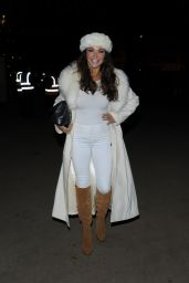 Lizzie Cundy - Winter Wonderland 2014 in Hyde Park in London
