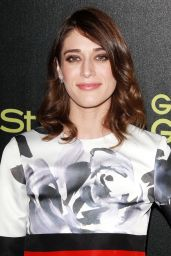 Lizzy Caplan – HFPA and InStyle's Celebration of the 2015 Golden Globe Award Season in West Hollywood