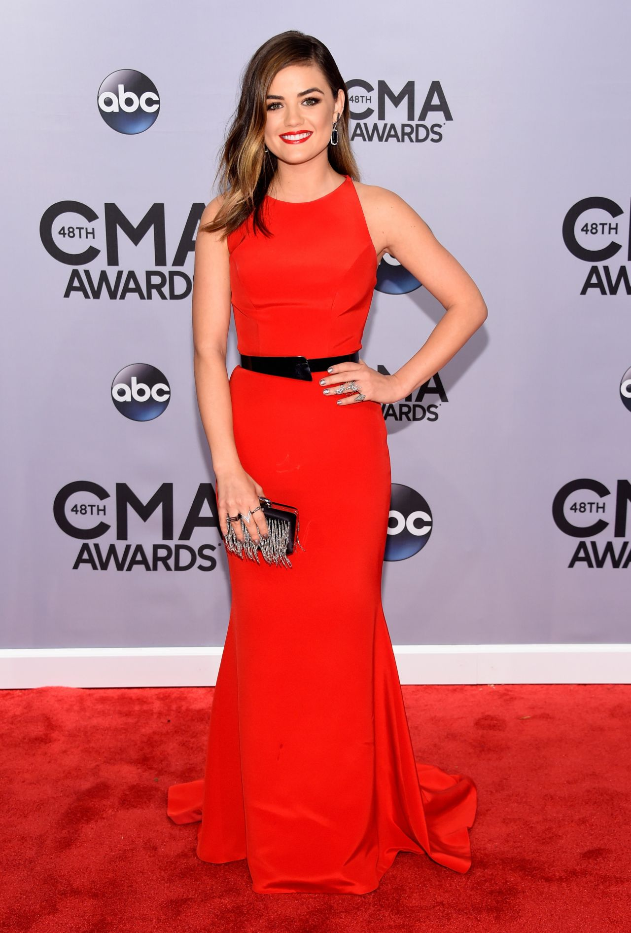 Lucy Hale – 2014 CMA Awards in Nashville