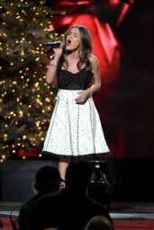 Lucy Hale Performs at CMA 2014 Country Christmas in Nashville