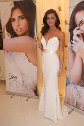 Lucy Mecklenburgh Promote Her New Perfume Wings by Lucy Mecklenburgh at The Dorchester Hotel in London