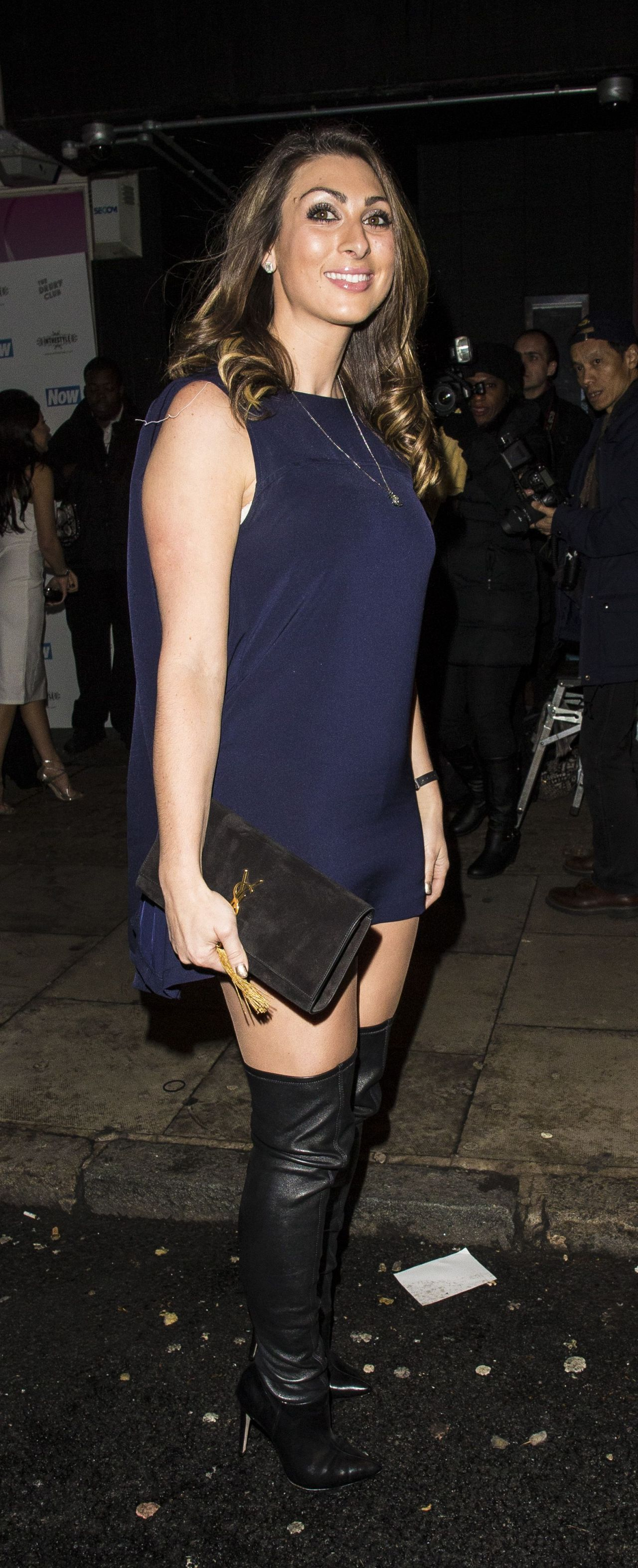Luisa Zissman Now Christmas Party In London November 2014