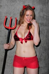 Maitland Ward at Comikaze 2014 in Los Angeles