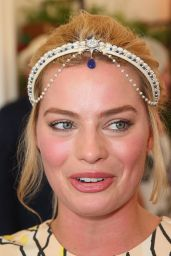 Margot Robbie at the Swisse Marquee on Stakes Day in Melbourne - November 2014