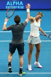 Maria Sharapova & Andy Murray - 2014 Coca-Cola International Premier Tennis League