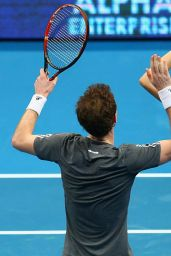 Maria Sharapova & Andy Murray - 2014 Coca-Cola International Premier Tennis League