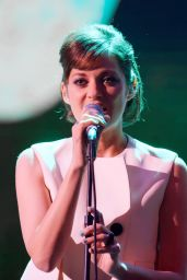 Marion Cotillard at Canal Plus 30th anniversary Show in Paris