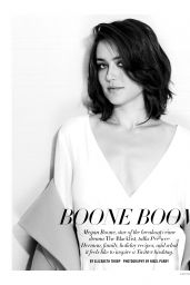 Megan Boone - Capitol File Magazine 2014 Holiday Issue