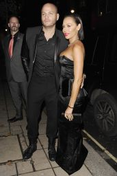 Melanie Brown Style - Katie Piper Foundation Ball in London – November 2014
