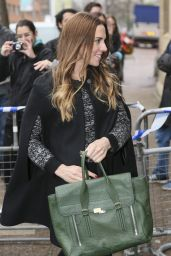 Melanie Chisholm Style - Leaving the ITV studios in London - November 2014