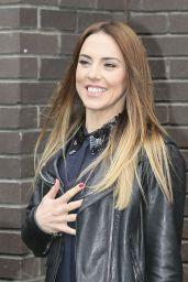 Melanie Chisholm Style - Seen at ITV Studios in London - November 2014