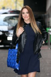 Melanie Chisholm Style - Seen at ITV Studios in London - November 2014