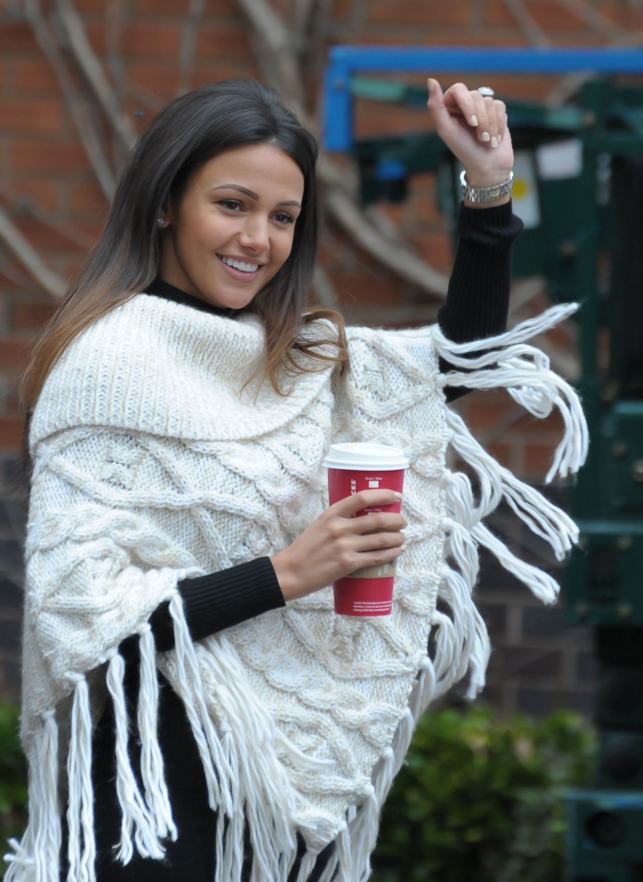Michelle Keegan Style - at the Shopping Centre in Solihull - England, November 2014