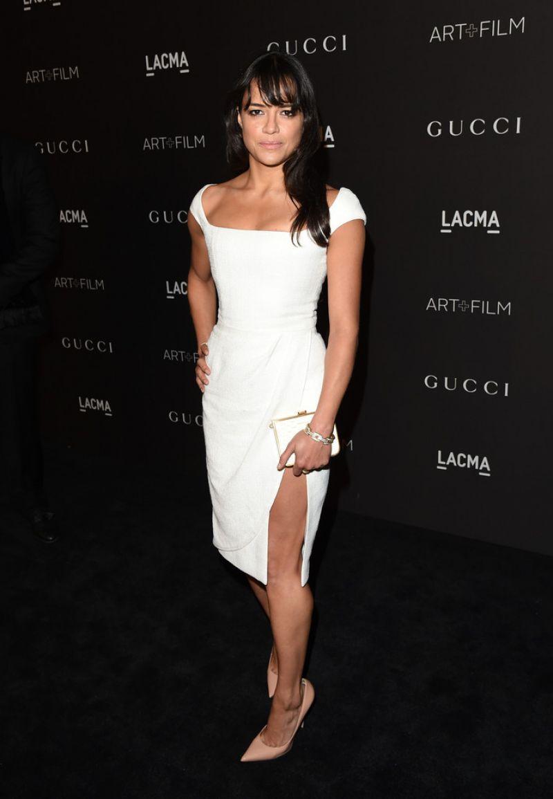 Michelle Rodriguez – 2014 LACMA Art + Film Gala in Los Angeles