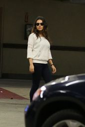 Mila Kunis Reveals Her Post-Baby Body - at a Ralphs Supermarket Shopping in Studio City - November 2014