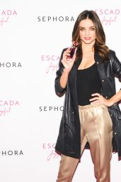 Miranda Kerr Photoshoot - ESCADA at SEPHORA Union Square in New York City
