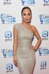 Myleene Klass - Global Make Some Noise Event in London - November 2014