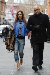 Myleene Klass Style - Out in London - November 2014