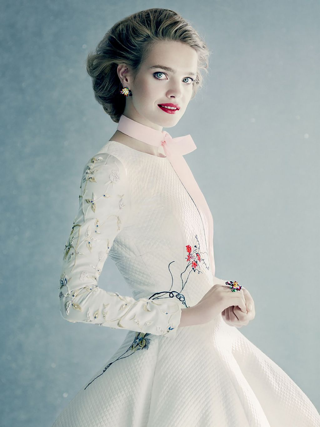 Natalia Vodianova - Photoshoot for Vogue Magazine (Russia) December 2014