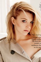 Natalie Dormer - Flare Magazine December 2014 Issue