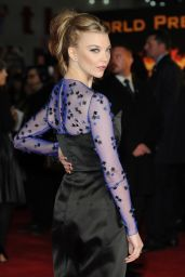 Natalie Dormer – 'The Hunger Games: Mockingjay Part 1′ Premiere in London
