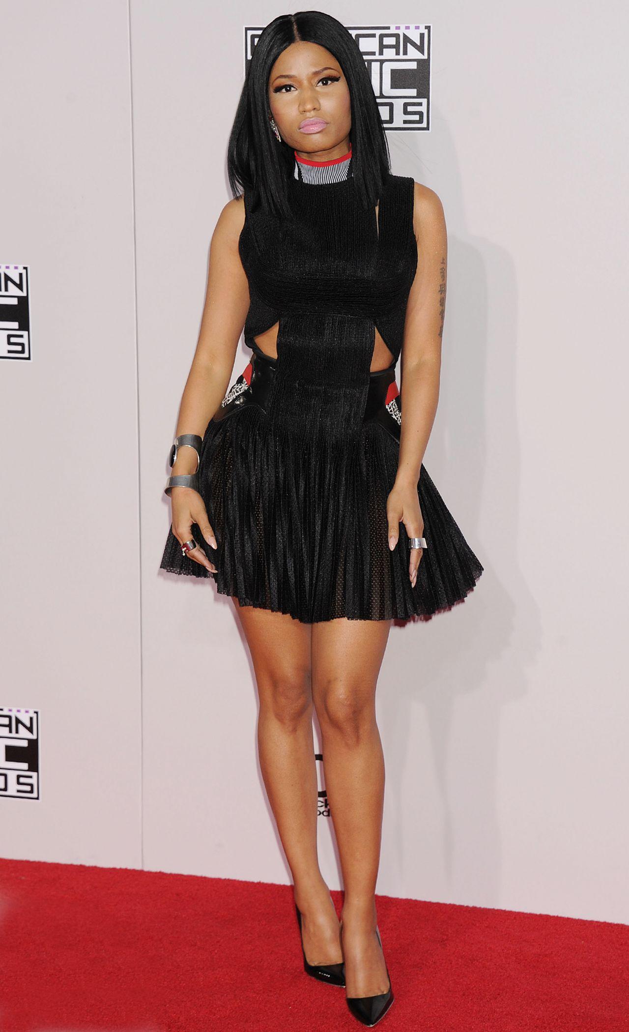 Nicki Minaj Red Carpet Photos - 2014 American Music Awards ...