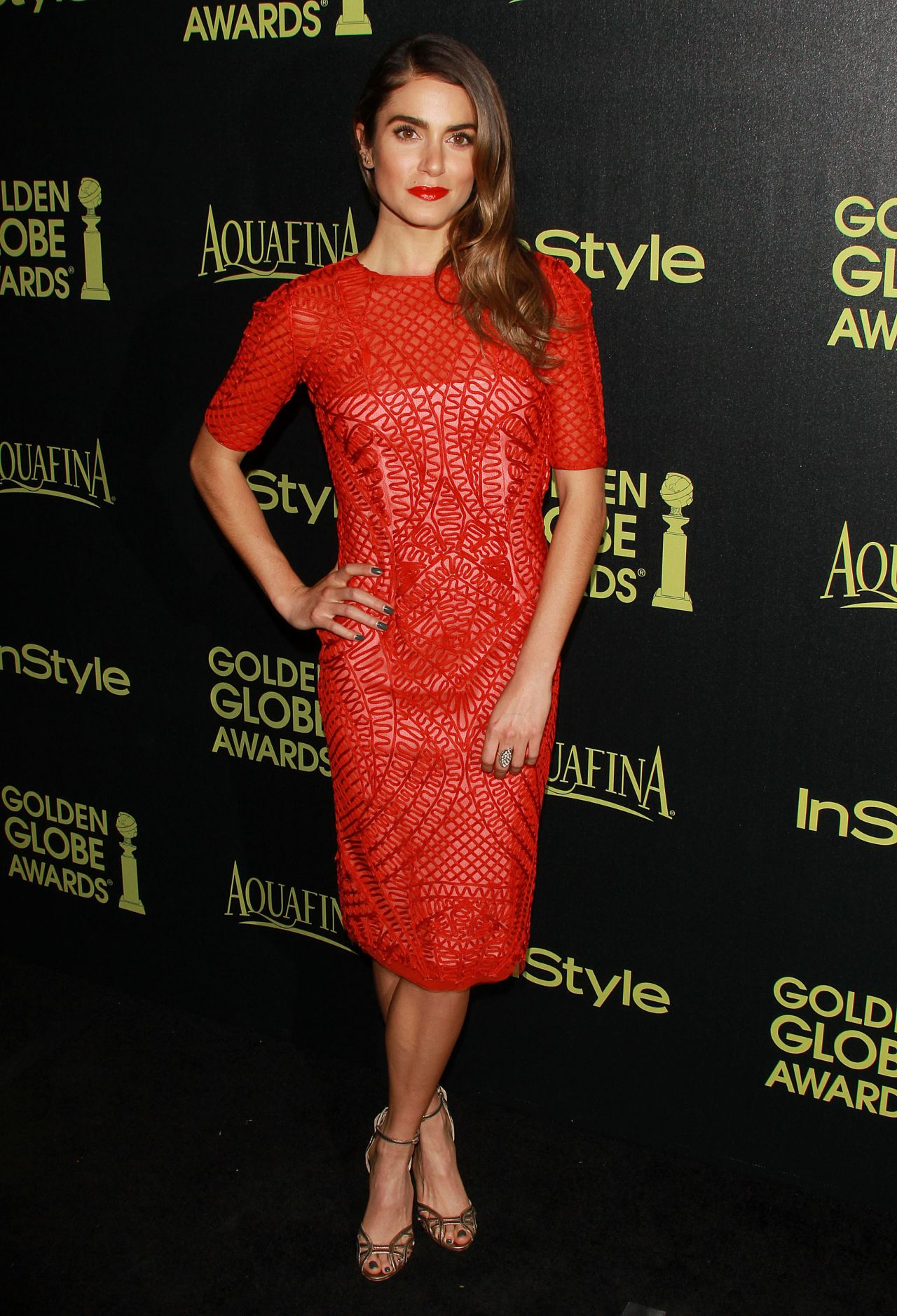 Nikki Reed – HFPA and InStyle's Celebration of the 2015 Golden Globe Award Season in West Hollywood