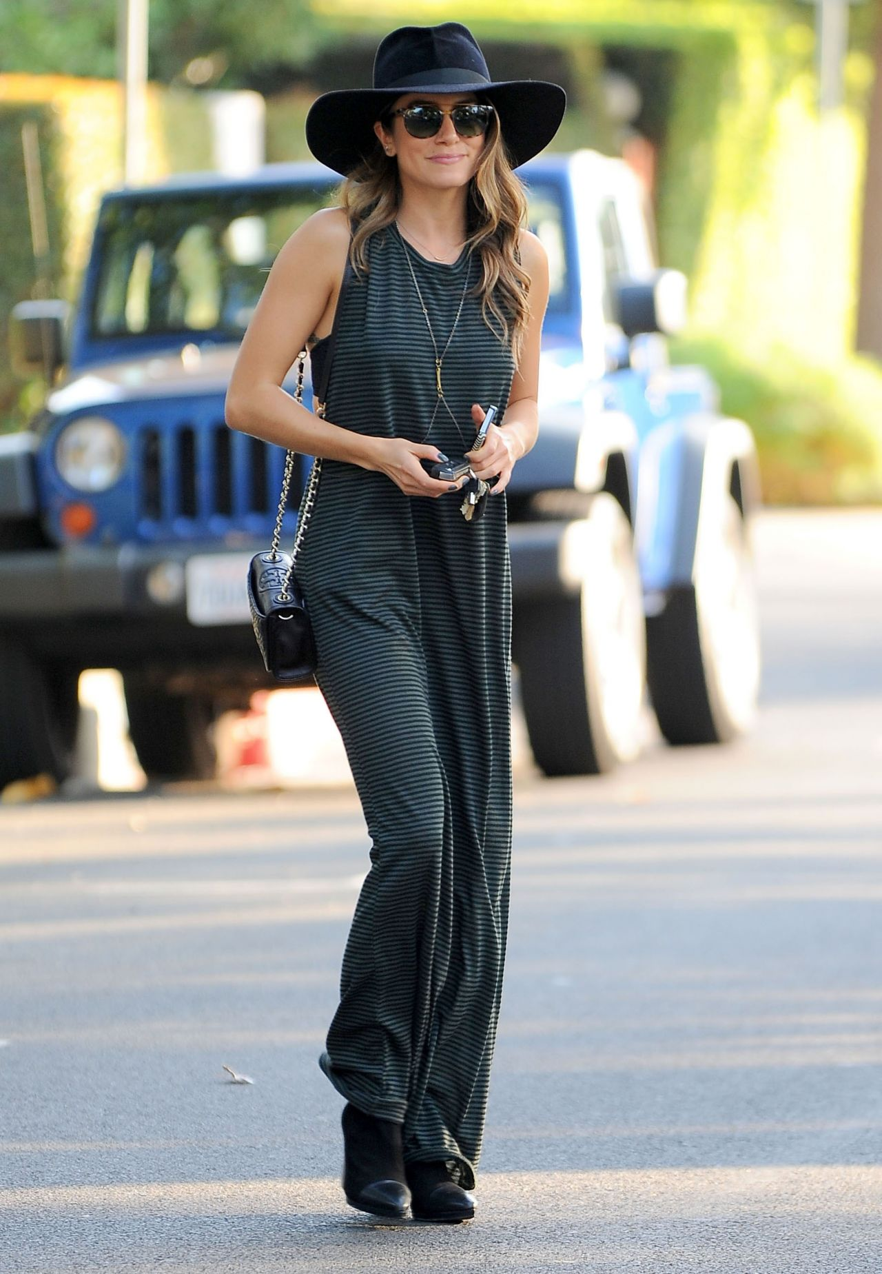 Nikki Reed Street Fashion Out In Los Angeles November 2014