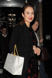 Olga Kurylenko - Dolce & Gabbana Christmas Tree Party in Claridge