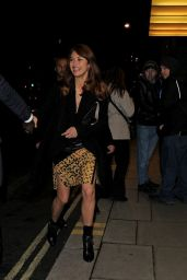 Olga Kurylenko Night Out Style - Liberatum Cultural Honour Dinner in London - November 2014