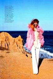 Palvin Barbara - Harper's Bazaar Magazine (USA) December 2014/January 2015 Issue