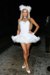 Paris Hilton - Halloween Party 2014 at 1oak in West Hollywood