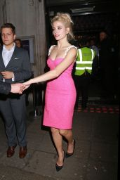 Pixie Lott Night Out Style - Leaving the Freedom Bar Soho, London - November 2014